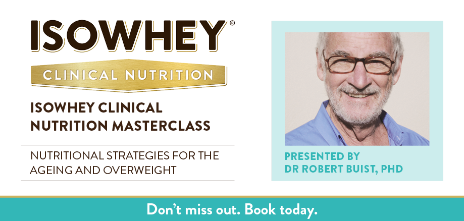 IsoWhey Clinical Nutrition Masterclass - Perth