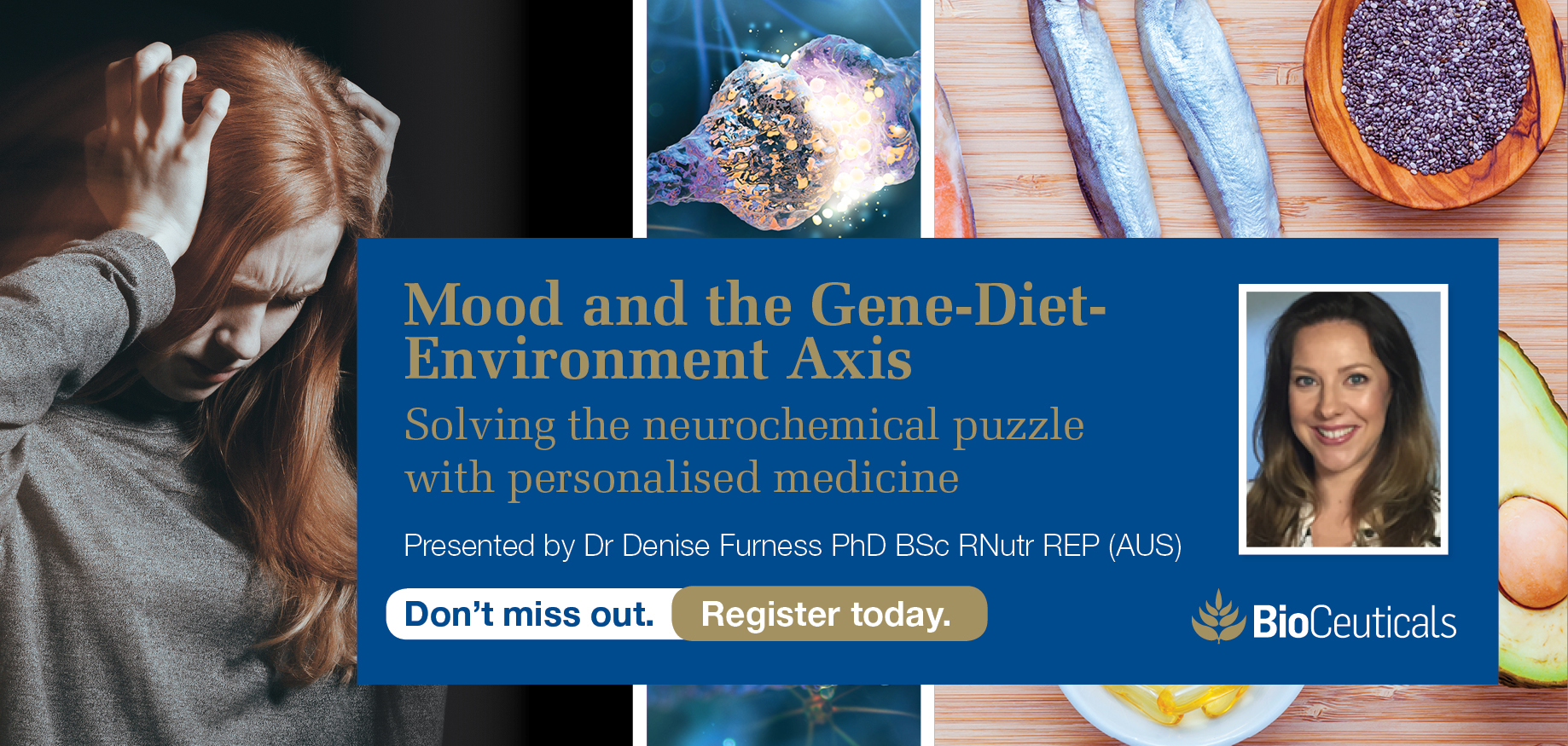 Mood and the Gene-Diet-Environment Axis - Adelaide
