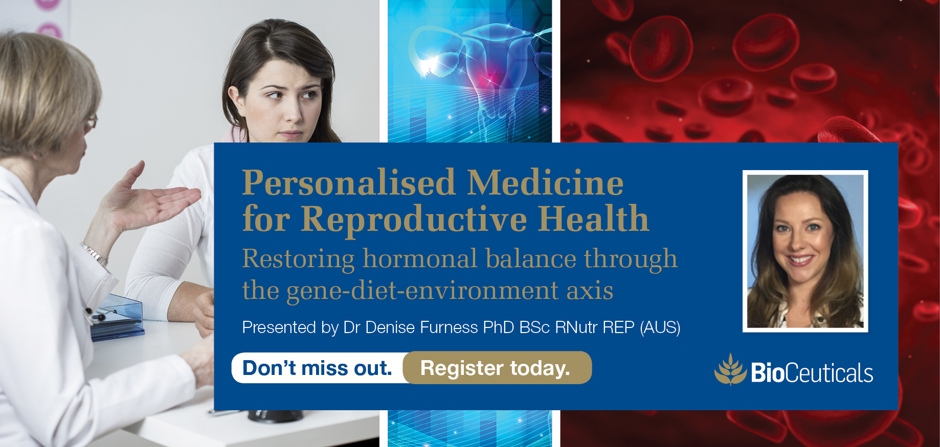 Personalised Medicine for Reproductive Health - Adelaide