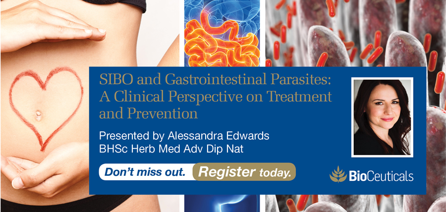 SIBO and Gastrointestinal Parasites. A Clinical Perspective on Treatment and Prevention - Perth