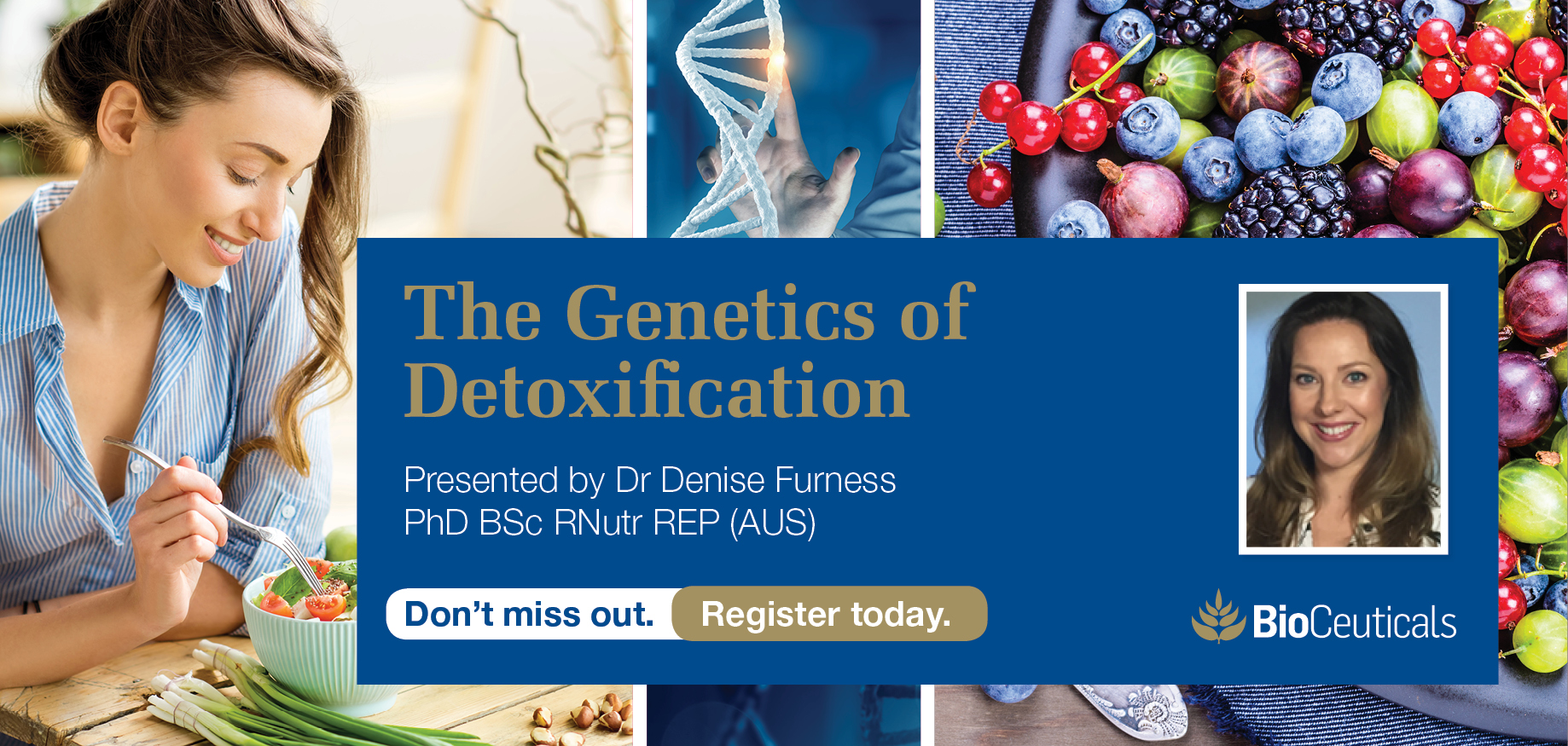 The Genetics of Detoxification - Melbourne