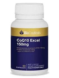 CoQ10 Excel 150mg 90 soft capsules
