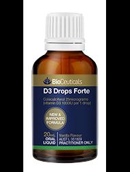 D3 Drops Forte 20mL oral liquid emulsion