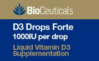 D3 Drops Forte 1000IU per drop