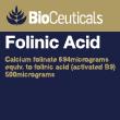Folinic Acid 120 capsules