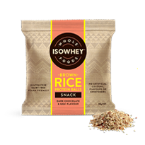 IsoWhey Wholefoods Brown Rice Protein Balls