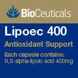 BioCeuticals Lipoec 400