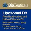 BioCeuticals Liposomal D3