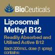 BioCeuticals Liposomal Methyl B12
