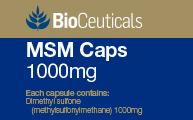 MSM Caps 1000mg