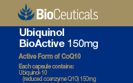 Ubiquinol BioActive 150mg*