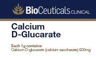 Calcium D-Glucarate (calcium saccharate)