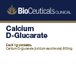 BioCeuticals Clinical Calcium D-Glucarate (calcium saccharate)