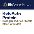 BioCeuticals Clinical KetoActiv Protein Powder Coconut Caramel