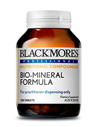 Bio-Mineral Formula 120 Tablets