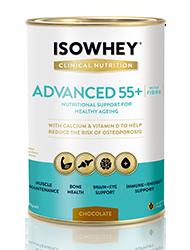 IsoWhey Clinical Nutrition Advanced 55+ - Chocolate 400g