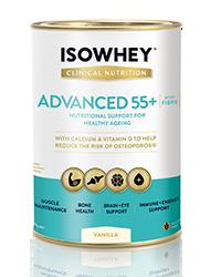 IsoWhey Clinical Nutrition Advanced 55+ - Vanilla 400g