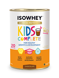 IsoWhey® Clinical Nutrition Kids Complete - Chocolate 600g