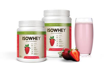 IsoWhey® Strawberry Smoothie