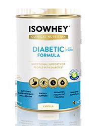 IsoWhey Diabetic Formula IsoWhey Madagascan Vanilla 640g