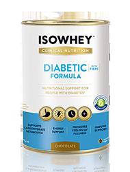 IsoWhey Diabetic Formula Chocolate 640g