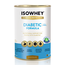 IsoWhey Diabetic Formula Ivory Coast Chocolate