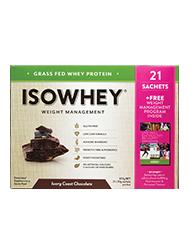 IsoWhey® Ivory Coast Chocolate 21 sachets/box