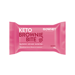 IsoWhey® Keto Brownie Bite - Berry