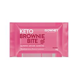 IsoWhey Keto Brownie Bite - Berry