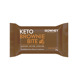 IsoWhey® Keto Brownie Bite - Chocolate