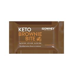 IsoWhey Keto Brownie Bite - Chocolate