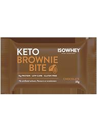 IsoWhey® Keto Brownie Bite - Chocolate 330g (10 x 33g pack)