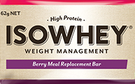 IsoWhey® Meal Replacement Bar - Berry