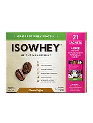 IsoWhey® Classic Coffee 21 sachets/box
