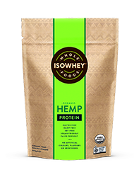 IsoWhey Wholefoods Organic Hemp Protein Powder