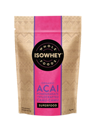 IsoWhey Superfoods Organic Acai, Pomegranate + Wildcrafted Camu-Camu Powder