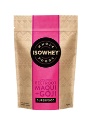 IsoWhey Superfoods Organic Beetroot, Maqui + Goji Juice Powder