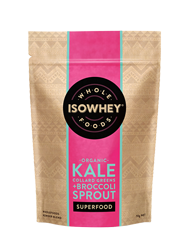 IsoWhey Superfoods Organic Kale, Collard Greens + Broccoli Sprout Powder