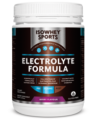 IsoWhey Sports - Electrolyte Formula Berry 500g powder