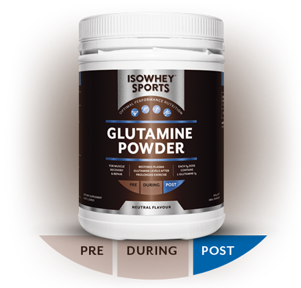 IsoWhey Sports Glutamine Powder