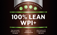IsoWhey Sports - 100% Lean WPI+ Chocolate