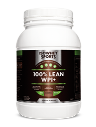 IsoWhey Sports - 100% Lean WPI+ Vanilla 1.28kg