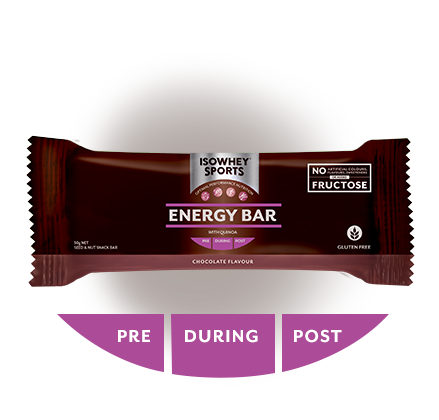 IsoWhey Sports Energy Bar - Chocolate