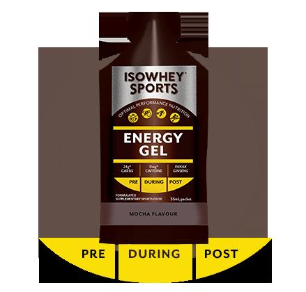 IsoWhey Sports Energy Gel - Mocha