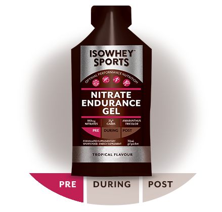IsoWhey Sports Nitrate Endurance Gel