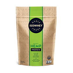 IsoWhey Wholefoods Organic Hemp Protein Powder