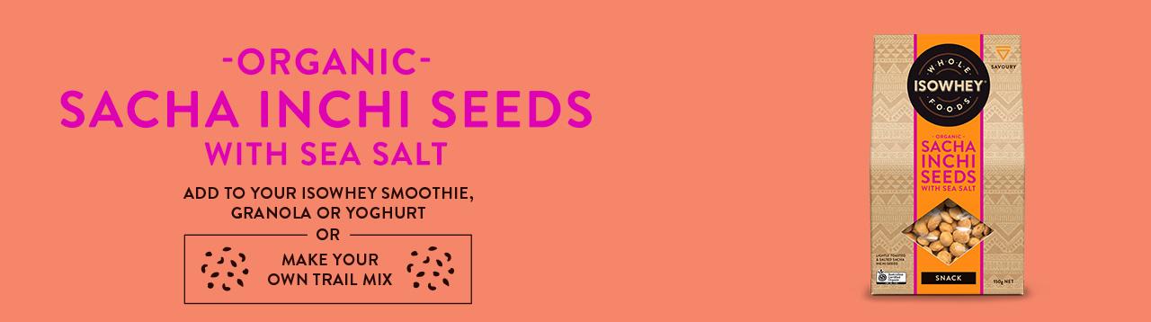 IsoWhey Wholefoods Organic Sacha Inchi Seeds