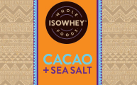IsoWhey Wholefoods Superfood Snacks - Cacao + Sea Salt