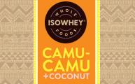 IsoWhey Wholefoods Superfood Snacks - Camu-camu + Coconut