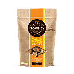 IsoWhey Wholefoods Superfood Snacks - Camu-camu + Coconut